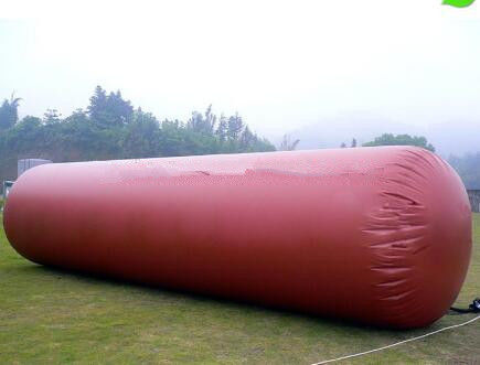 China UV Protection Methane Gas Storage Tanks , PVC Coated Fabric For Biogas Plant supplier