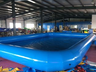 China Customized  Logo PVC Swimming Pool Removable And Portable Above Ground PVC Pools  supplier