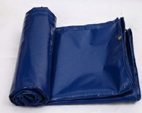 China Flame Retardant PVC Truck Cover Fabric Waterproof Tarpaulin Fabric For Cargo Cover supplier
