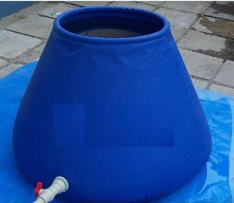 China Flexible Tank  Round Tarpaulin Water Tank Drought Resistant PVC 2500L supplier