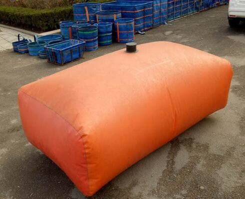 China 1000L Fire Fighting Tarpaulin Water Tank For Agricultural Irrigation 1.2MM Thickness supplier