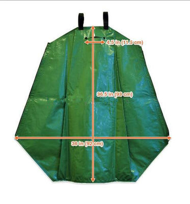 China Green 25 Gallon Tree Watering Bags For Watering Newly Planted Trees  supplier