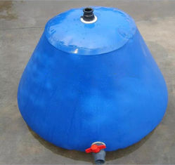 China PVC Foldable Rain Water Tank Round Top For Fire Fighting Self-Standing Water Tank  2000L supplier