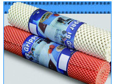 China 330g - 600g Weight Anti Skid Mat  PVC Coated For Home And Office Easily Re-Positioned supplier