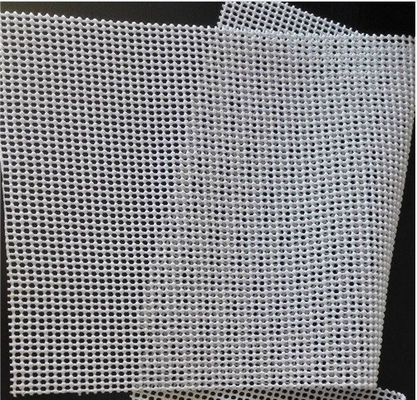 China 570g Tapestry Knitting Mat Odorless Pvc Non Slip Mat Beige Color 1.65mx50m Per Roll supplier