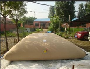 China 15500L Flexible Water Tank 650 Tear Strength For Agriculture Diggings supplier