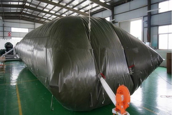 Environmentally Friendly Fuel Transfer Tank 10000L With Collapsible TPU Material