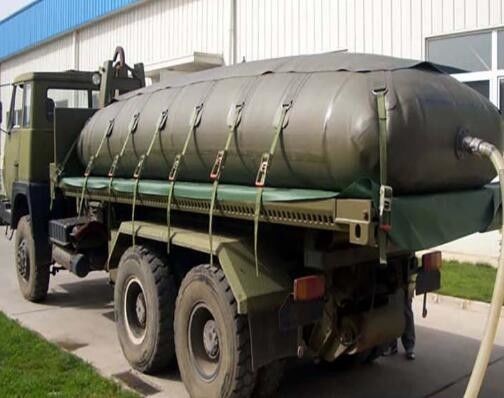 High Pressure Resistance Bladder Fuel Tank ,Flexible 12000L Truck Fuel Tanks