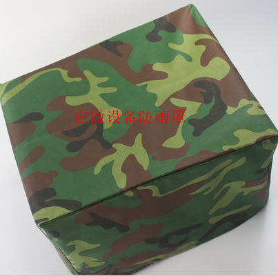 China 600D Oxford Waterproof Equipment Covers / Camouflage Machine Cover supplier