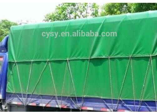 China 1000D*1000D PVC Truck Cover With Eyelet -30~70 Temperature Resistance supplier