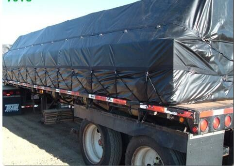 China Strong Tear Resistance PVC Truck Cover Matte Surface With Previously Unused Raw Materials supplier