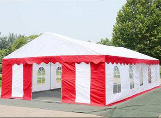 China Wear Resistance Large White Tarp TC1010 UV Protection For Wedding Tent supplier
