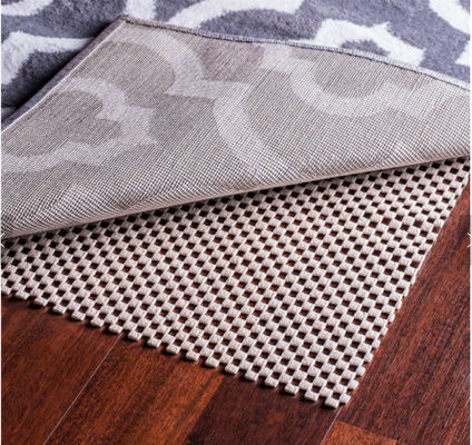 China Corrosion Resistance Grid PVC Non Slip Mat 5mm Carpet Underlay With ODM Service supplier