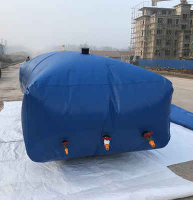 China 10000L PVC Pillow Water Storage Tanks Flexible Capacity Large Water Tanks supplier