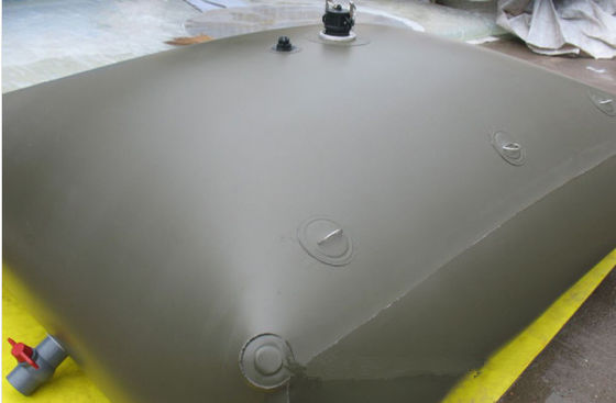 China TPU Coating Fabric Liquid Containment Fuel Bladder Soft And Transportable For Industry supplier