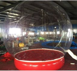 China Inflatable Bubble Show Ball Inflatable Red Bubble Tent For Display 2M D supplier