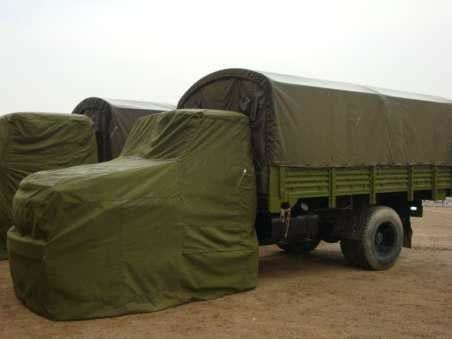China 650 GSM Antioxidants  Heavy Duty Tarpaulin Sheet / Water Resistant Truck Cover supplier