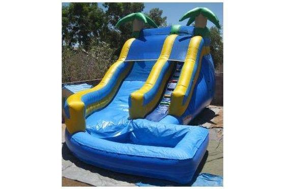 China Outdoor Blow Up Water Playground Games Bounce House Amusement Park For Kids 5-15 Years Old supplier