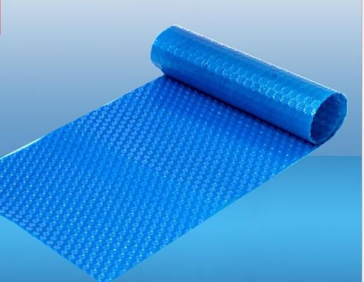 China 9M × 16M Bubble Sun Heat Insulation Spa Pool Blanket Cover Double Color Poly Carbonate supplier
