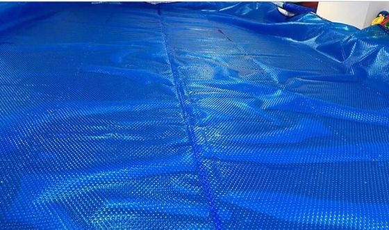 China Bubble Swimming Pool Solar Blanket Save Warmth And Evaporation 12mm Diameter supplier