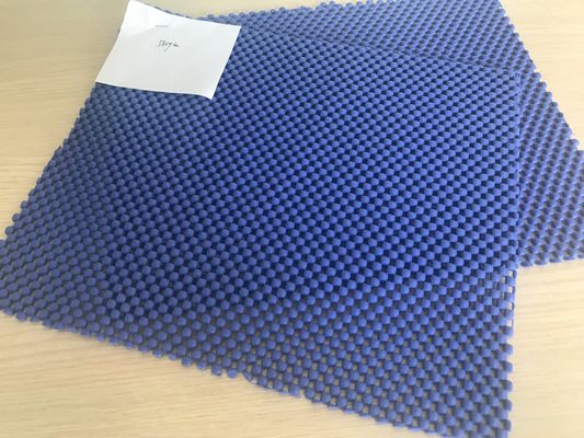 China 540g Moistureproof Eco - Friendly PVC Non Slip Mat Carpet Underlay Rug Pad supplier