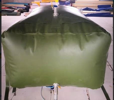 China Army 3000L Gasoline Bladder Fuel Tank Collapsible Water Bladder Tank For Truck supplier