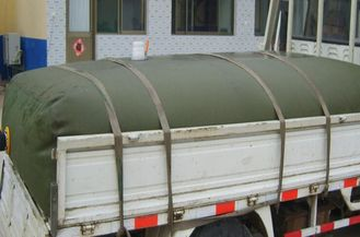 China 10000L Diesel Bladder Fuel Tank Flexible Military Crude Oil Storage Tank supplier