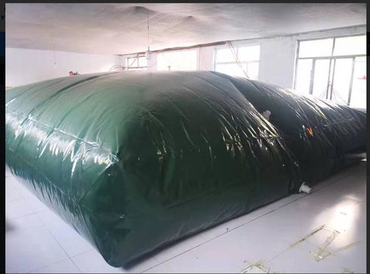 China 40000 Liter Liquid Tarpaulin Water Tank , Inflatable Pvc Water Storage Tank supplier