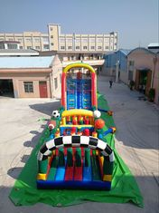 China Huge Interactive Challenge Inflatable Obstacle Course Bounce House Aqua Park Ninja Parcours supplier