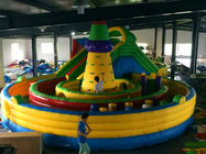 China Eco Friendly Bouncer Castle Inflatable Amusement Park Blow Up Princess Jumping Castle factory