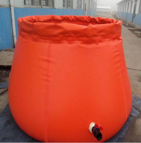 Collapsible Onion Shape Plastic Water Storage Tank For Fire