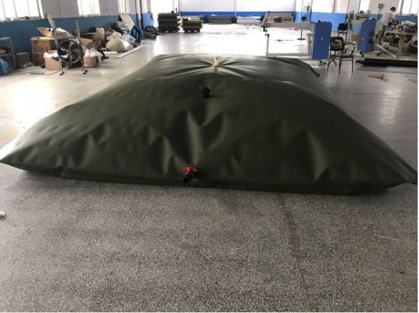 7000L Pillow Shape Desert PVC Flexible Water Storage Tank For Agriculture