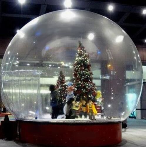 ff0caa820a5 China Snow Globe   Crystal Ball Inflatable Bubble Tent For Christmas  Activities supplier