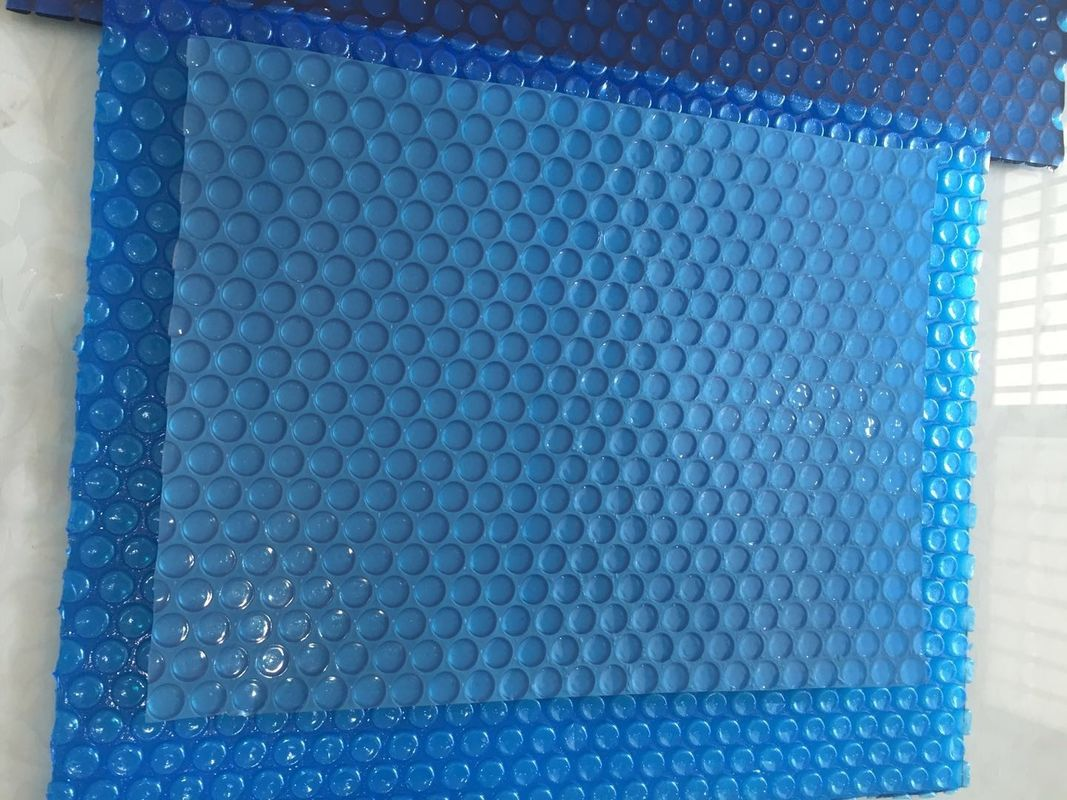 400 Micron Swimming Pool Bubble Cover , PE Outdoor Bubble Cover Heat ...