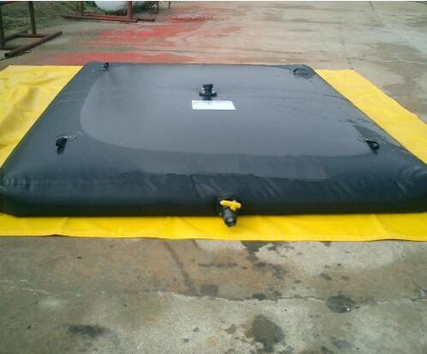 Portable PVC Tarpaulin Inflatable Water Storage Tanks Tarpaulin Water Tank 4500L