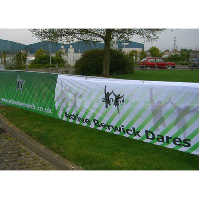 China Eco-Solvent Ink Large Mesh Banners, PVC Mesh Banner With Printable Surface factory