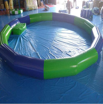 China High Strength PVC Swimming Pool , PVC Inflatable Lap Pool  4.5M*4.5m For Kids factory