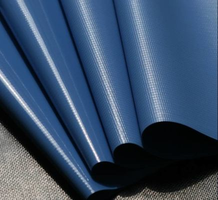 China Sunshade Flame Retardant Tarpaulin 1000d x 1000d 18x18 Base Fabric factory