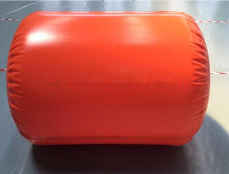 China Flame Retardant Methane Storage Tank Red Tarpaulin With Large Capacity 10000L factory