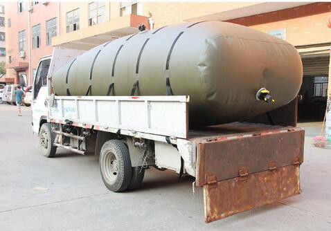 China Vehicle Bladder Fuel Tank ,20000L Collapsible Fuel Container Tensile Strength factory