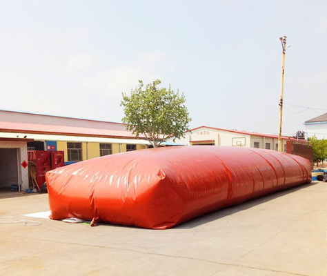 Double Membrane Biogas Storage Tank Flexible Above Ground Storage Tank  For Cooking Fuel