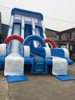 China PVC Inflatable Amusement Park Pirate Blow Up Water Slide For Adult And Child factory