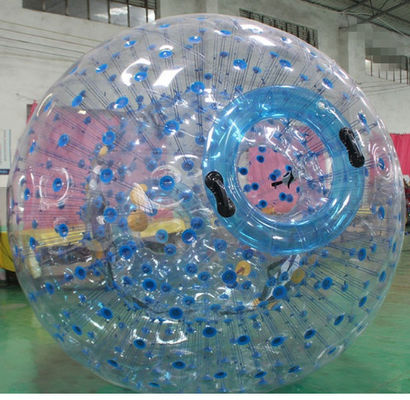 China 1.70M Walk Water Human Bubble Ball , Inflatable Rolling Ball Outdoor Snow Games factory