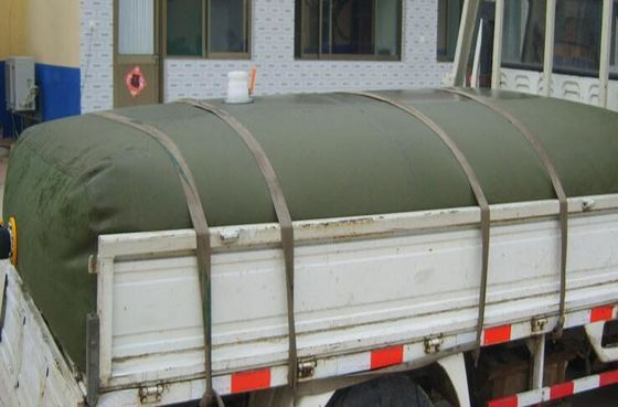 China 10000L Diesel Bladder Fuel Tank Flexible Military Crude Oil Storage Tank factory