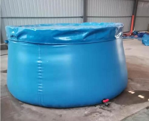 Customized Color 7000L Flexible Onion Shape Tarpaulin Water Tank