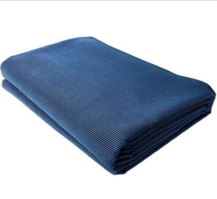 Anti Slip Mat Caravan Annex Matting RV Carpet, Blue Beach Rug Grey Grass Mat With Handle Bag
