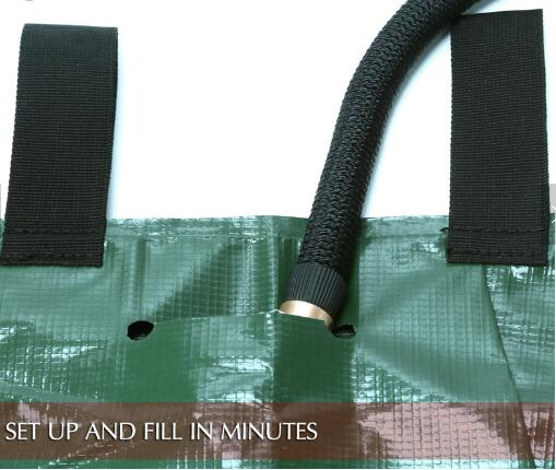 Green 25 Gallon Tree Watering Bags For Watering Newly Planted Trees