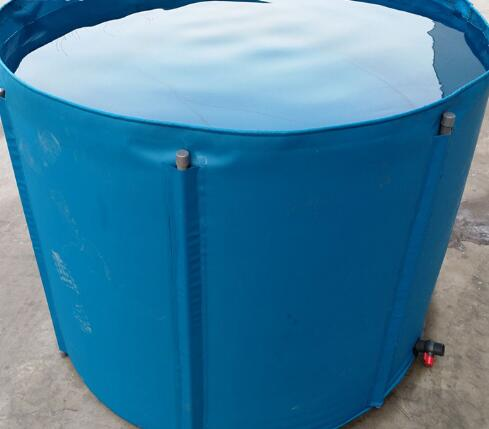 3500L Metal Frame Collapsible And Movable  PVC Tarpaulin Fish Tank