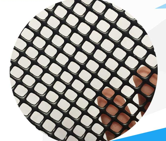 Reinforce PVC Coated Polyester Mesh , 50N/5cm Peeling Strength Building Safety Net