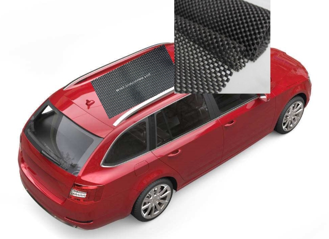 Vehicle Top Anti-Slip Mat, Eco-friendly PVC Grid Mat,PVC Coated Foam Mat